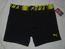 "NWT Mens PUMA 6"" Microfiber Sport Stretch Boxer Brief Underwear - size L"