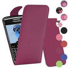 Premium PU Leather Vertical FLIP Pouch Holster Case for BlackBerry 9780 Onyx