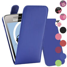 Premium PU Leather Vertical FLIP Pouch Holster Case for Samsung S5830 Galaxy Ace