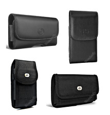 """Pouch for Metro PCS LG Aristo (5"""") phone with a protective case on it"""
