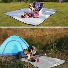 Portable Folding Outdoor Camping Double-side Mat Aluminum Moisture-proof Pad