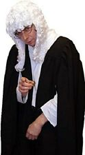 Victorian/Edwardian UNISEX JUDGE/BARRISTER GOWN & WIG COSTUME