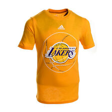 Los Angeles Lakers Youth Solar Logo T-Shirt (Gold)