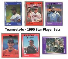 1990 Star Player Sets ** Pick Your Player **