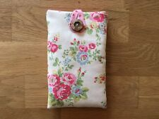 iPhone 6s / 6s Plus Fabric Padded Case Handmade With Cath Kidston Spray Flowers
