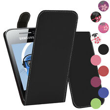 Premium PU Leather Vertical FLIP Pouch Holster Case for Samsung S5360 Galaxy Y