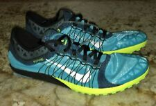 NIKE Zoom Victory Waffle 3 BLUE Cross Country Spikeless Shoes New Mens 8.5 11.5
