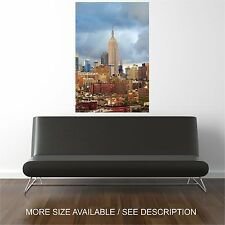 Wall Art Canvas Print Picture New York City Buildings -Unframed