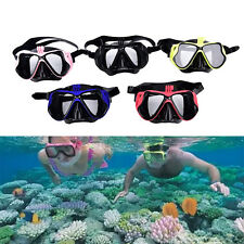 Pro Underwater Camera Diving Mask Scuba Snorkel Swimming Goggles Fit for GoProLS