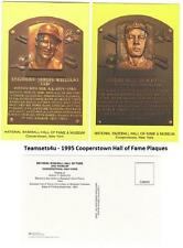 1995 Cooperstown Hall of Fame Plaque Baseball Set ** Pick Your Team **