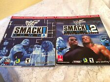 WWE WWF SMACKDOWN 1 & 2 STRATEGY GUIDES PLAYSTATION VIDEO GAMES PRIMAS OFFICIAL