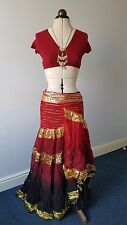 Tribal Fusion ATS Wrap skirt Belly dance Gypsy Dance wear