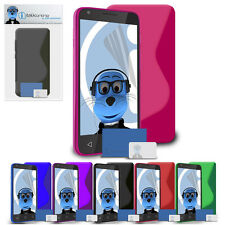 Slim S Line TPU Gel Case Cover with Screen Protector for Apple iPod Touch 5G