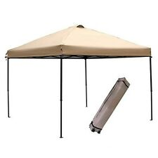 Canopy Tent 10 x 10 Instant Pop Up Portable Folding Garden Shelter Roller Bag