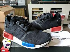 Adidas NMD_R1 PK Primeknit Runner Nomad Boost OG Core Black Blue Lush Red S79168