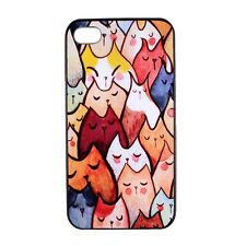 Many Cute Cat Pattern Design Hard Case Cover Skin for Apple iPhone 4 4S 5 5S