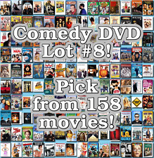 Comedy DVD Lot #8: 158 Movies to Pick From! Buy Multiple And Save!