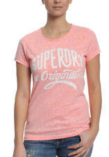 Superdry T-Shirt Women SUPERDRY MFG ENTRY Coral Blossom Snowy