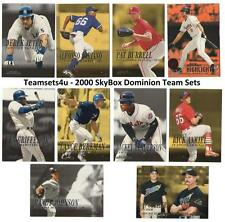 2000 SkyBox Dominion Baseball Set ** Pick Your Team **