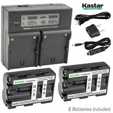 NP-FM500H Battery&Dual Fast Charger for Sony Alpha a99, Alpha a99 II, DSLR α560