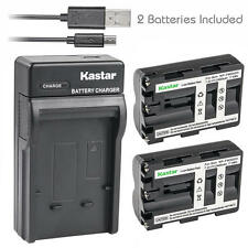 NP-FM500H Battery&Dual Slim Charger for Sony DSLR-A350X A450 A450L A450Y A500
