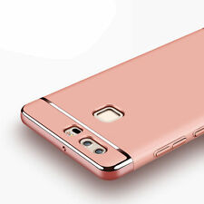 2017 Luxury Electroplate Shockproof Hard Back Case Cover For Huawei P9 P9 Plus