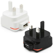 UK 3 Pin Mains Charger Plug Adapter for Amazon Kindle Touch (4G)