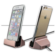 USB Charger Dock Station Sync Data Cable Stand Cradle Charging For iPhone 6 6S 7