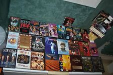 LOT OF DVDS,LED ZEPPELIN,HENDRIX,NIRVANA,LISZTOMANIA,KISS,THE DOORS,ROGER WATERS