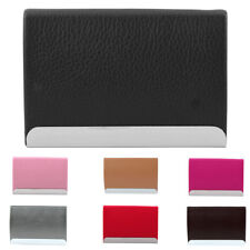 Office Work Metal Portable Business Name Credit Card Holder Box Case Container