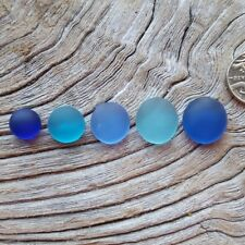 Seaham and North East Coast Sea Glass / Hand Carved Cabochons - Imogen's Beach