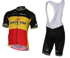 QUICK STEP LATEXCO Belgium Cycling Jersey Retro Bike Kit Ropa Ciclismo MTB Maill