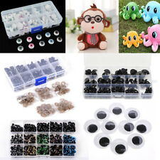 Plastic Safety Eyes Noses For DIY Teddy Bear TOY Doll Animal Crafts Puppet