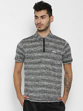 FILA Grey ELDON T-shirt with Grindle Effect