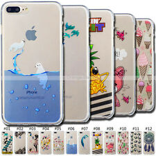 Cute Skin Silicone Protection Cover TPU Back Soft Rubber Case For Apple iPhone