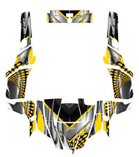 Can am Commander Graphic kit with Blingstar,OEM,Pro Armor Door Wrap Design #7777