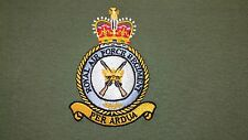 RAF ROYAL AIR FORCE REGIMENT CREST HOODIE