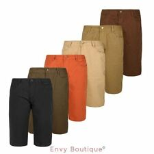 "NEW MENS COTTON REGULAR CHINO SHORTS FIT CASUAL SUMMER SHORT PANTS 32""-42"""