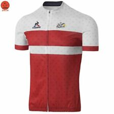 2017 Le Coq Sportiff Red Tour France Cycling Jersey Maillot Ciclismo