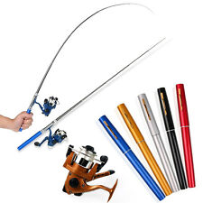 Pen Pocket Fishing Rod and Reel Line Combos Travel Portable Fishing Tackle Sets