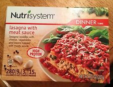 Lot of 13 Nutrisystem Lasagna With Meat Sauce Dinners