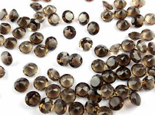 Wholesale Lot Natural Smoky Quartz Round Shape 6mm Normal Cut Loose Gemstone