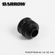 Barrow 14mm OD Rigid Hard Acrylic Tube Pipe Compression Fitting TYKN-K1410