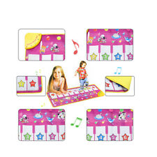 BABY KID EDUCATIONAL ANIMAL TOUCH PLAY PIANO KEYBOARD MAT MUSICAL CARPET LIKABLE
