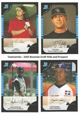 2005 Bowman Draft Picks and Prospects Baseball Set ** Pick Your Team **