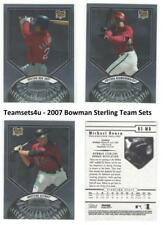 2007 Bowman Sterling Baseball Set  ** Pick your Team **
