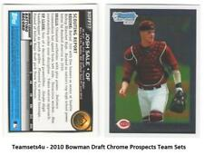2010 Bowman Draft Chrome Prospects Baseball Set ** Pick Your Team **