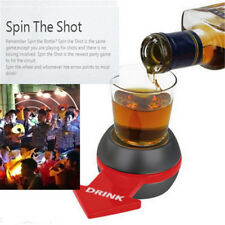 Spin The Shot Glass Drinking Game Fun Party Gifts Turntable Toys Drinking Game