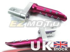Red Front Raised Foot Pegs Custom fit Honda RVT1000 VTR1000 SP1 SP2 RC51 00-07