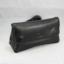 New Leather 2-Pipe Pocket Pipe Tool Pocket Tobacco Pouch Black #Cb83